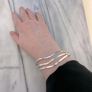 Sterling Silver Bangles - set of three